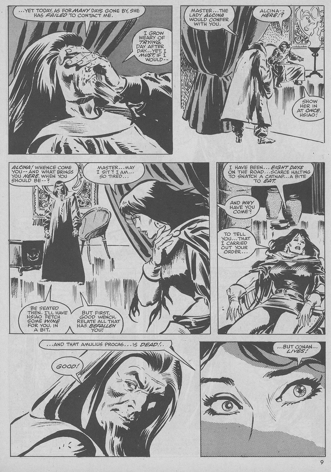 The Savage Sword Of Conan Issue #51 #52 - English 9
