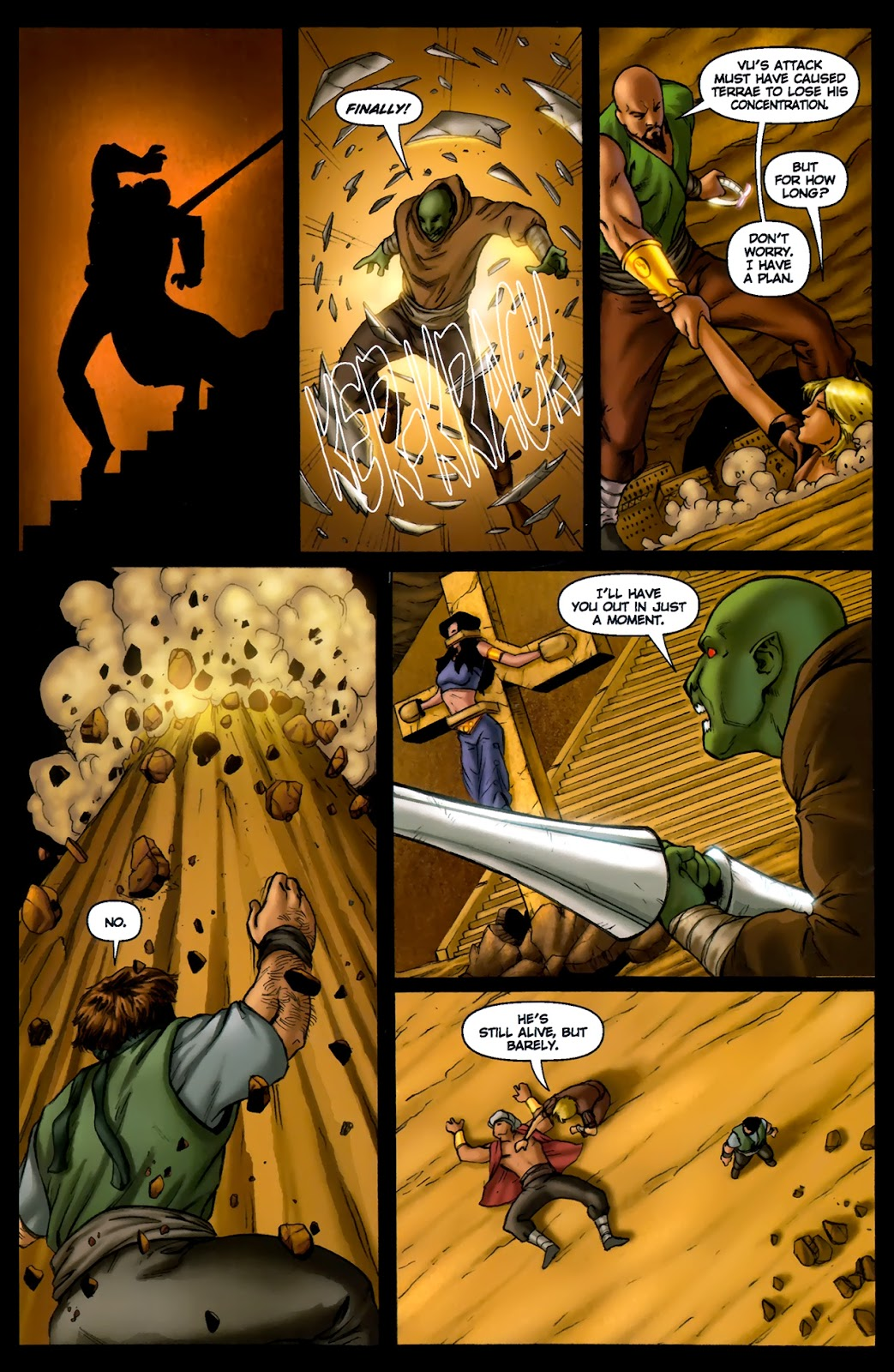 1001 Arabian Nights: The Adventures of Sinbad Issue #13 Page 14