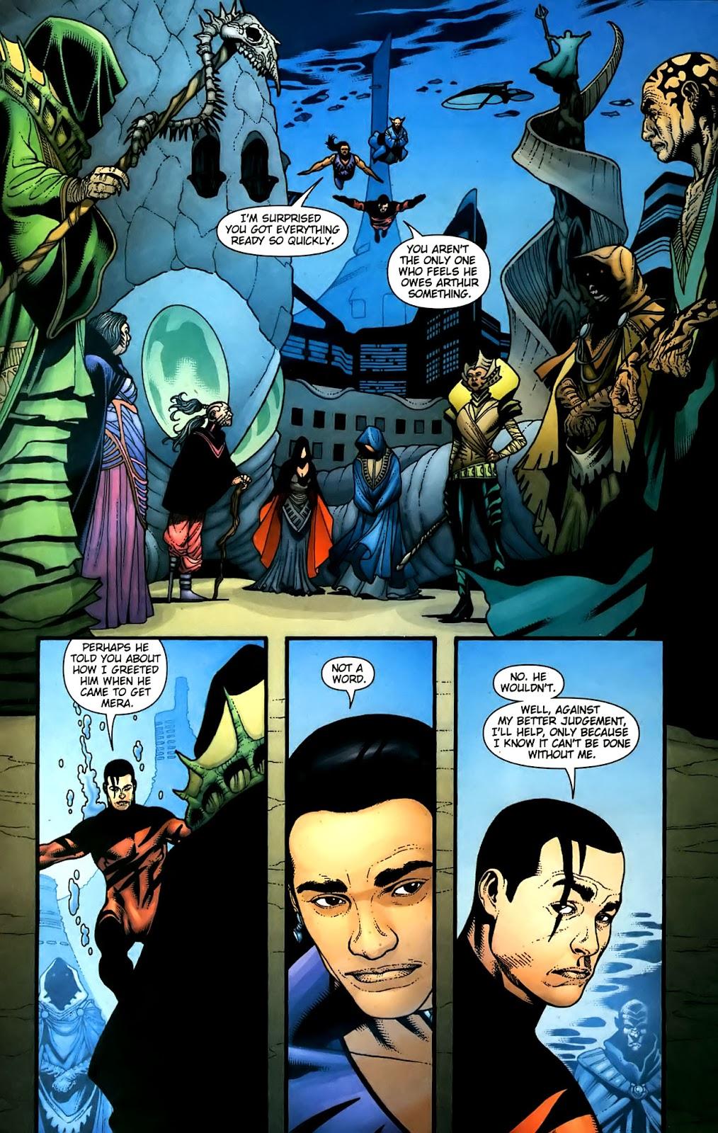Aquaman (2003) Issue #36 #36 - English 20