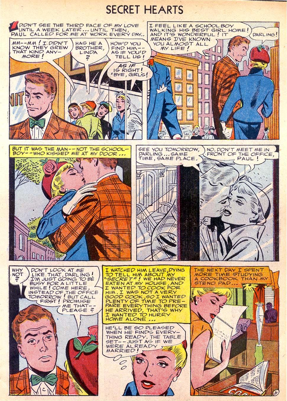 Read online Secret Hearts comic -  Issue #11 - 31