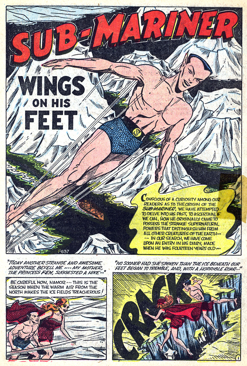 Sub-Mariner Comics #38 #38 - English 15