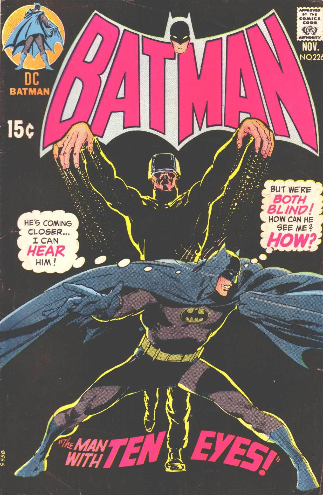 Batman (1940) 226 Page 1