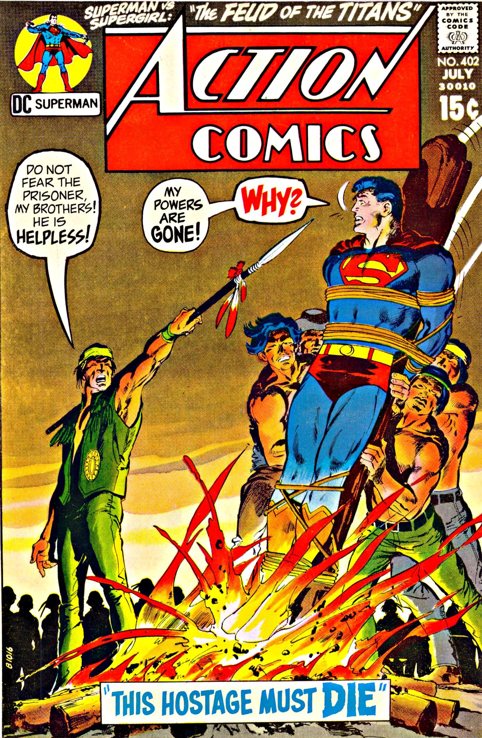Action Comics (1938) 402 Page 1