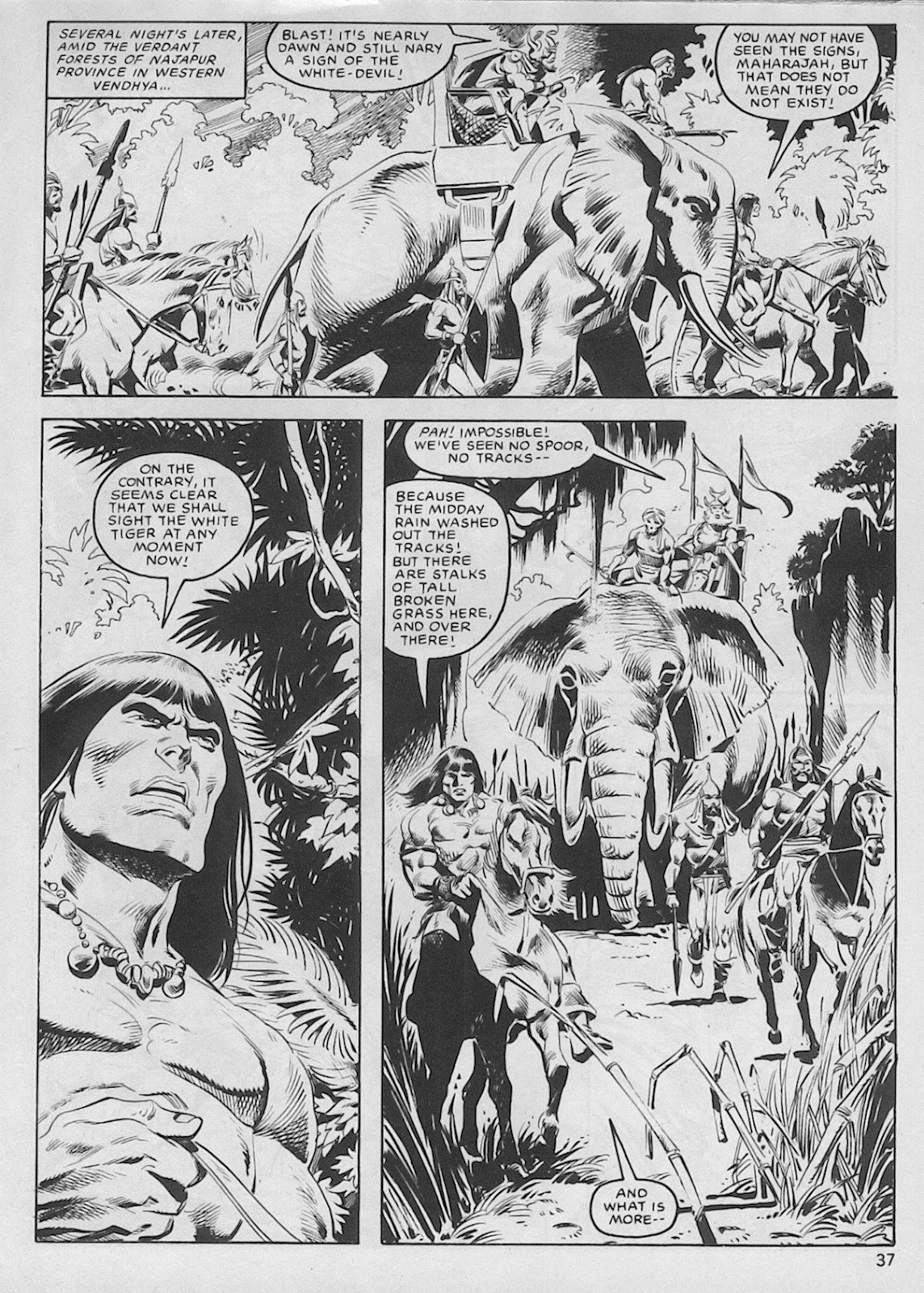 The Savage Sword Of Conan Issue #103 #104 - English 36