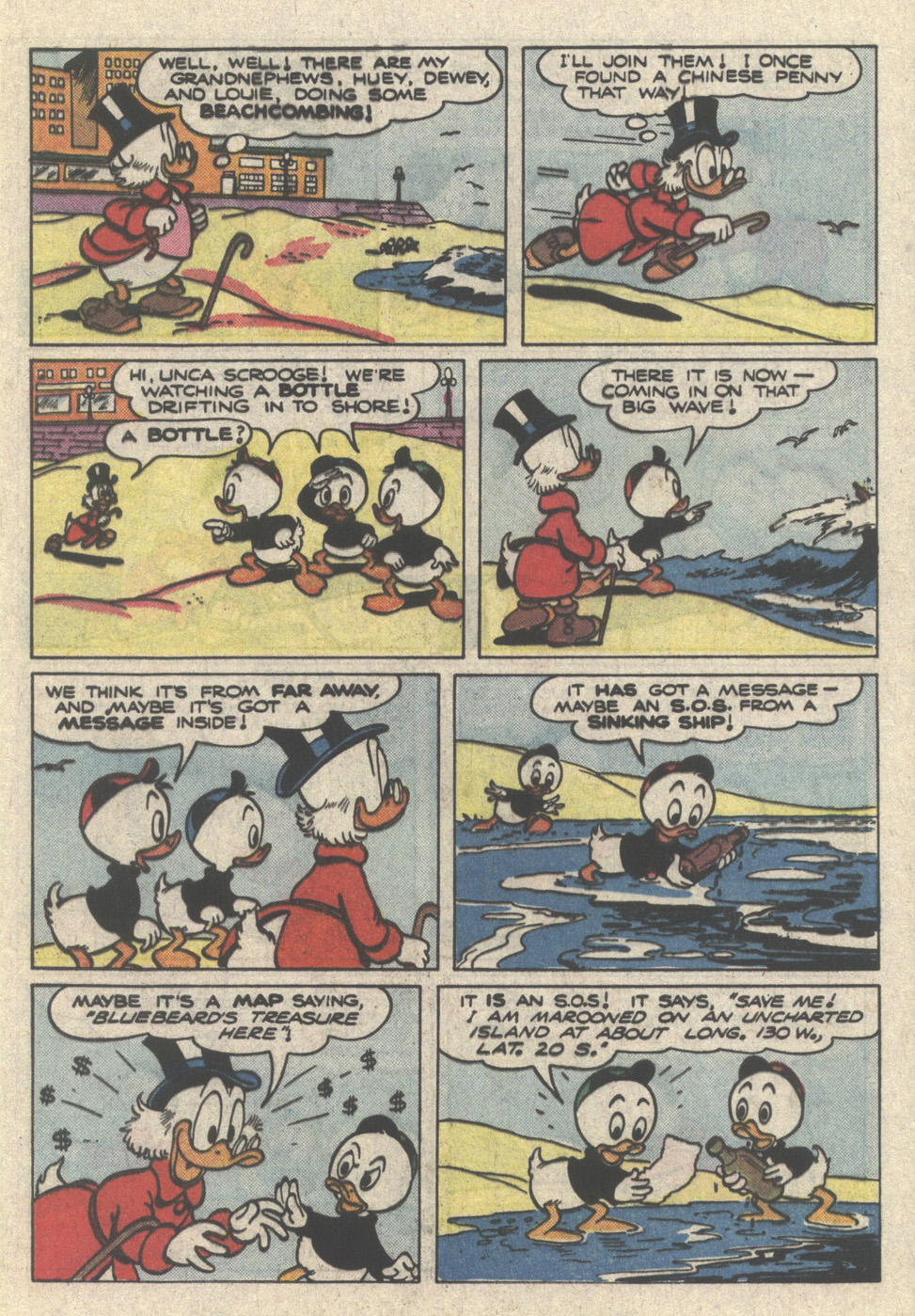 Uncle Scrooge (1953) Issue #222 #222 - English 5