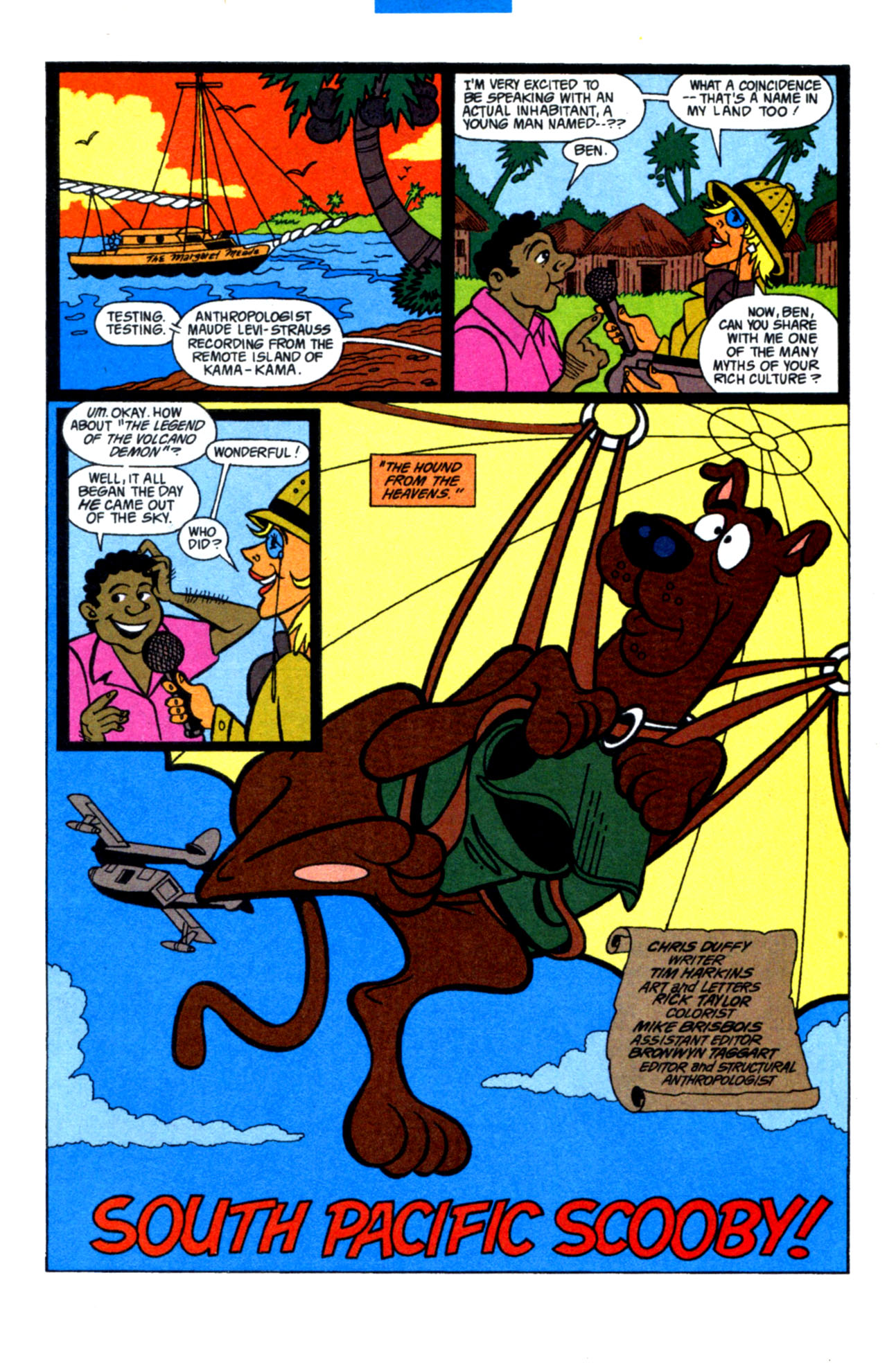 Read online Scooby-Doo (1997) comic -  Issue #15 - 23