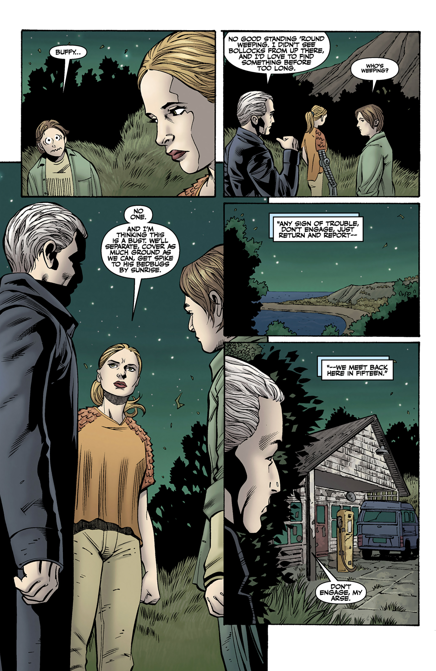 Read online Buffy the Vampire Slayer Season Nine comic -  Issue #9 - 22