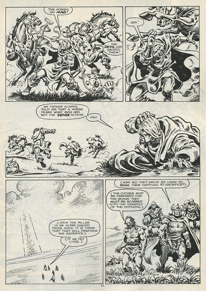 The Savage Sword Of Conan Issue #178 #179 - English 23