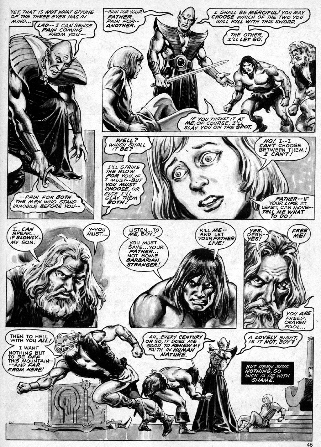 The Savage Sword Of Conan Issue #69 #70 - English 45