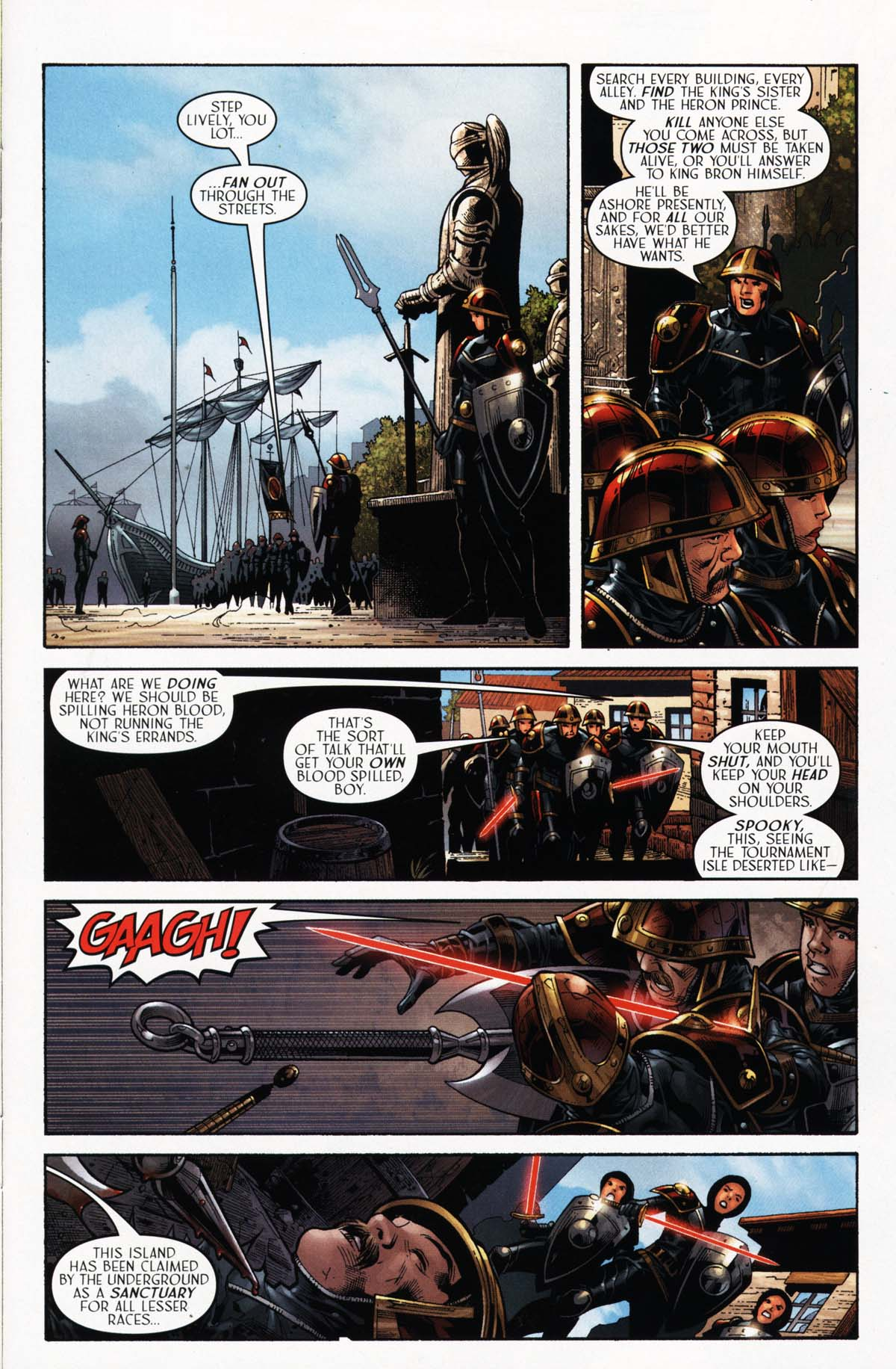 Read online Scion comic -  Issue #24 - 9