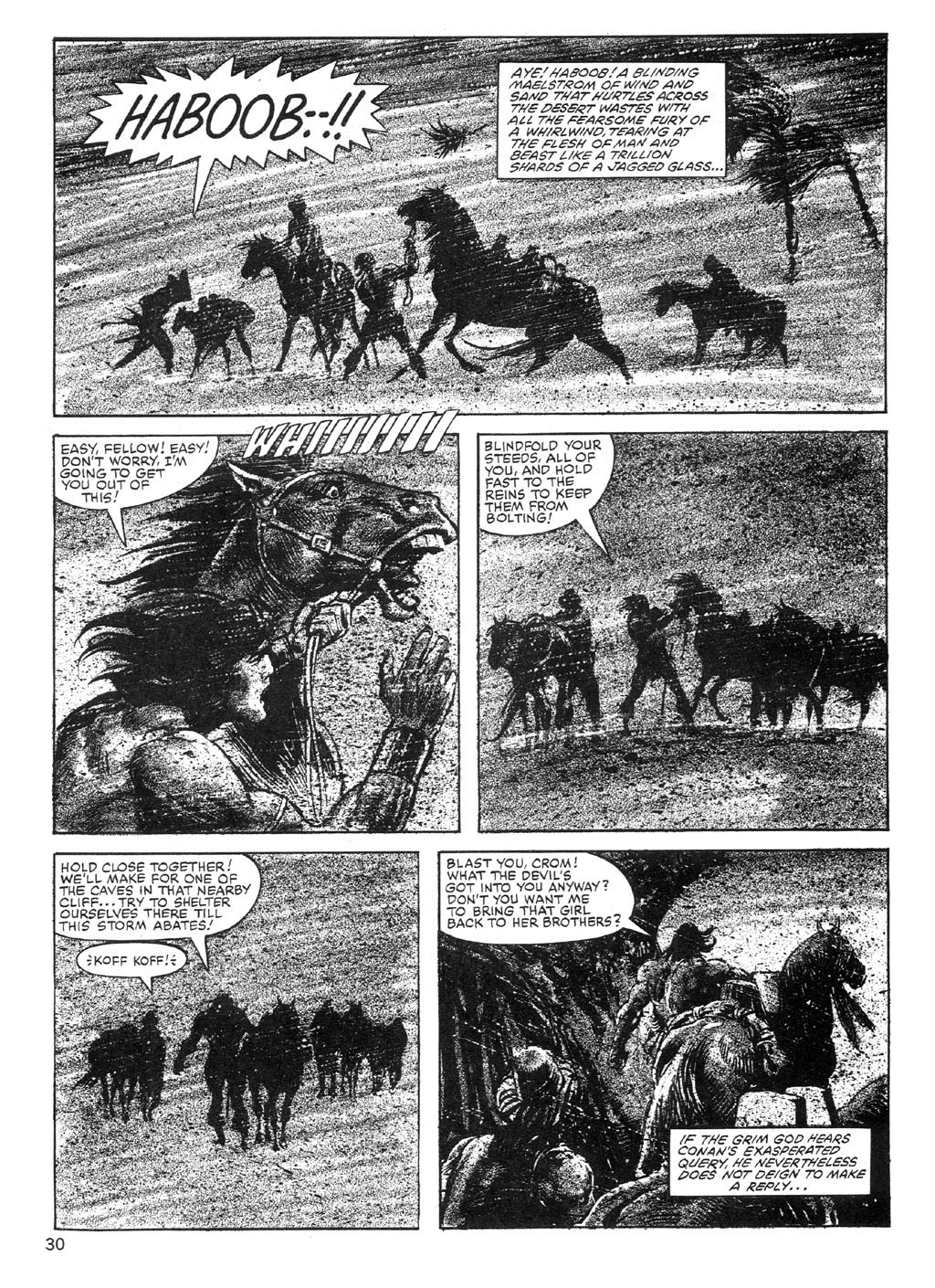 The Savage Sword Of Conan Issue #89 #90 - English 30