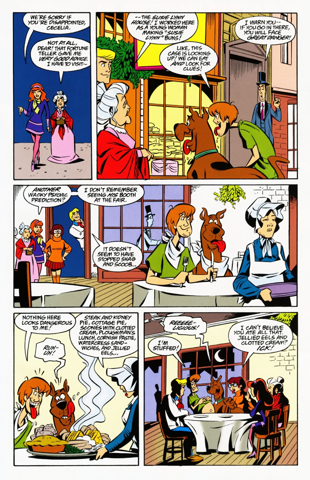 Read online Scooby-Doo: Where Are You? comic -  Issue #8 - 21
