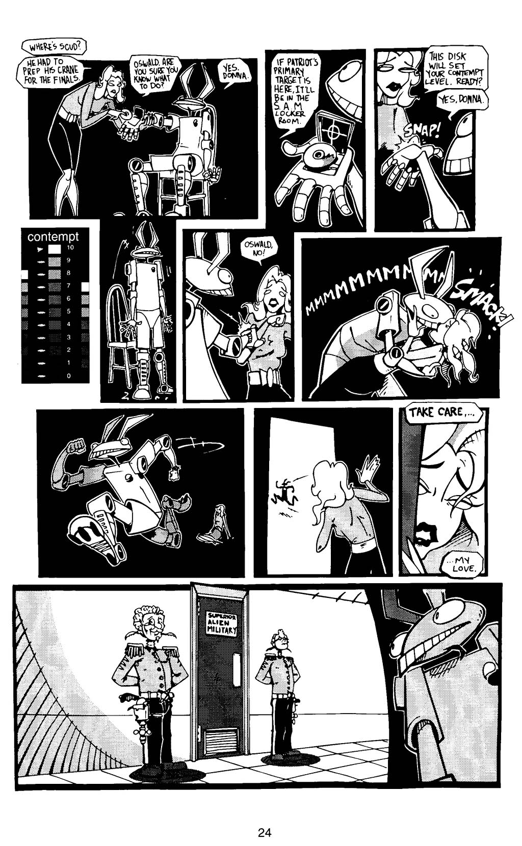 Read online Scud: The Disposable Assassin (1994) comic -  Issue #12 - 26