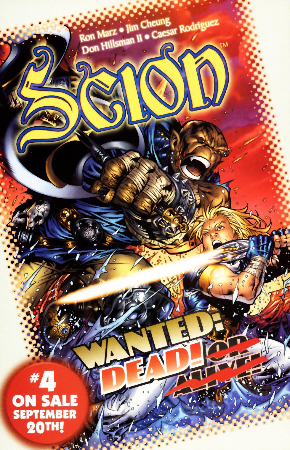Read online Scion comic -  Issue #3 - 25