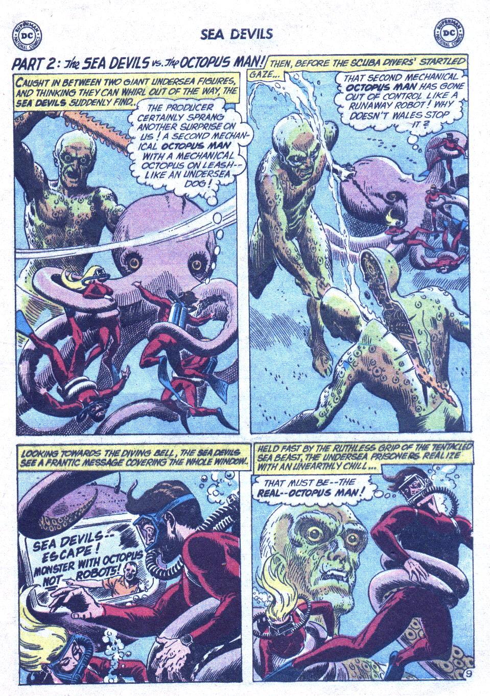 Read online Sea Devils comic -  Issue #1 - 14
