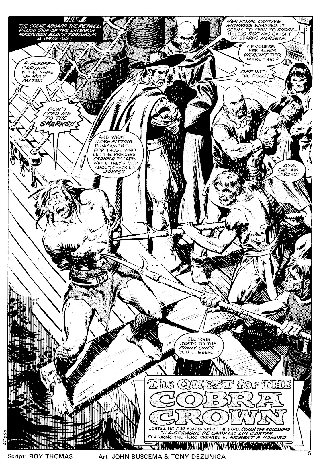 The Savage Sword Of Conan Issue #41 #42 - English 5