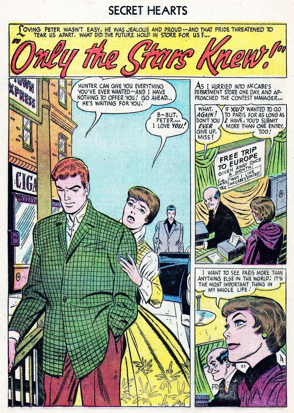 Read online Secret Hearts comic -  Issue #29 - 18