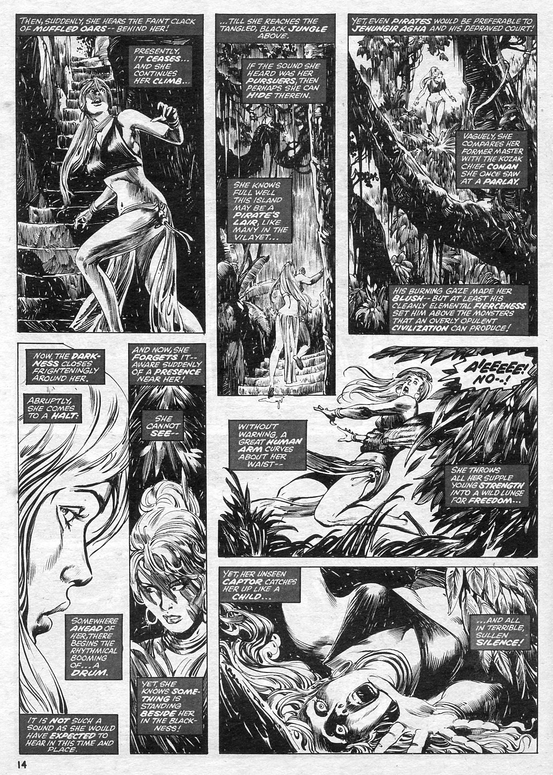 The Savage Sword Of Conan Issue #15 #16 - English 14