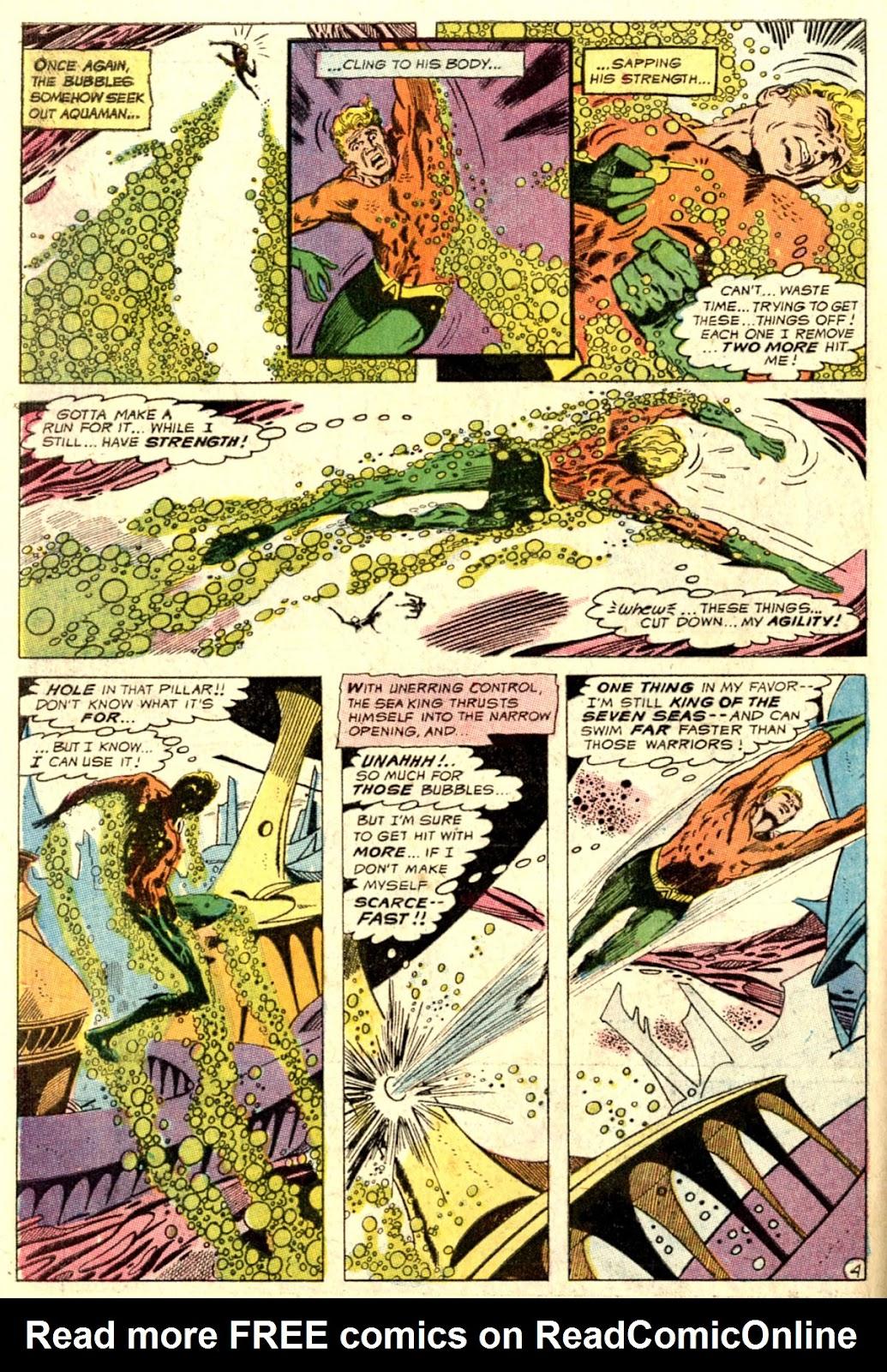 Aquaman (1962) Issue #51 #51 - English 6