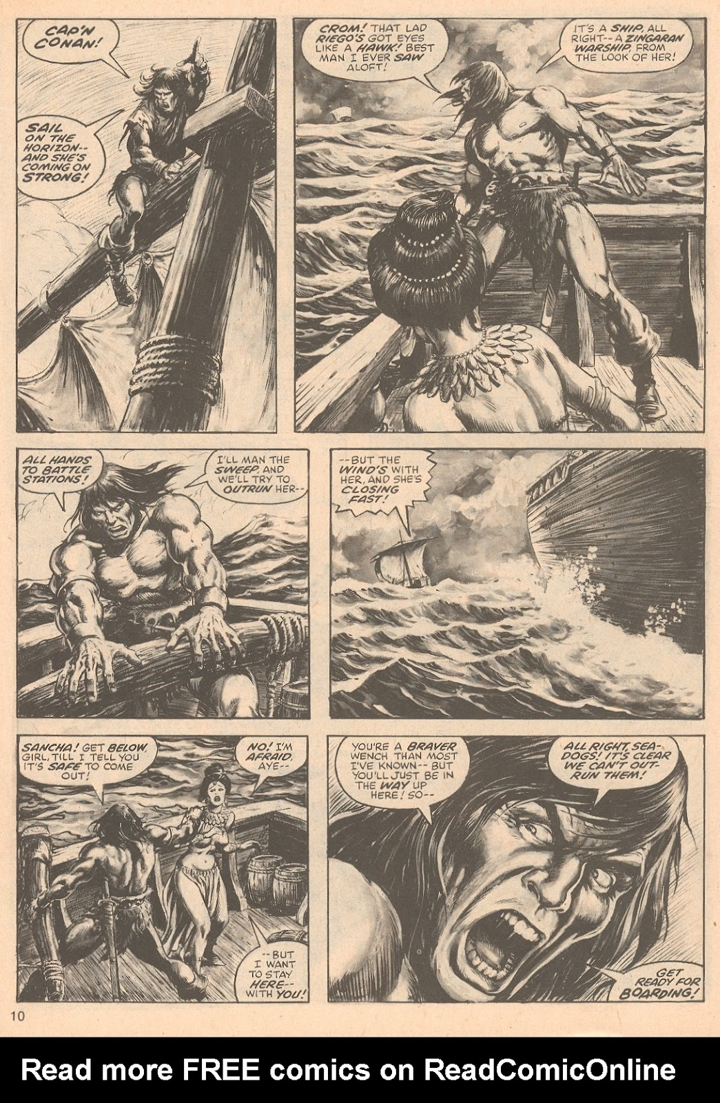 The Savage Sword Of Conan Issue #67 #68 - English 10