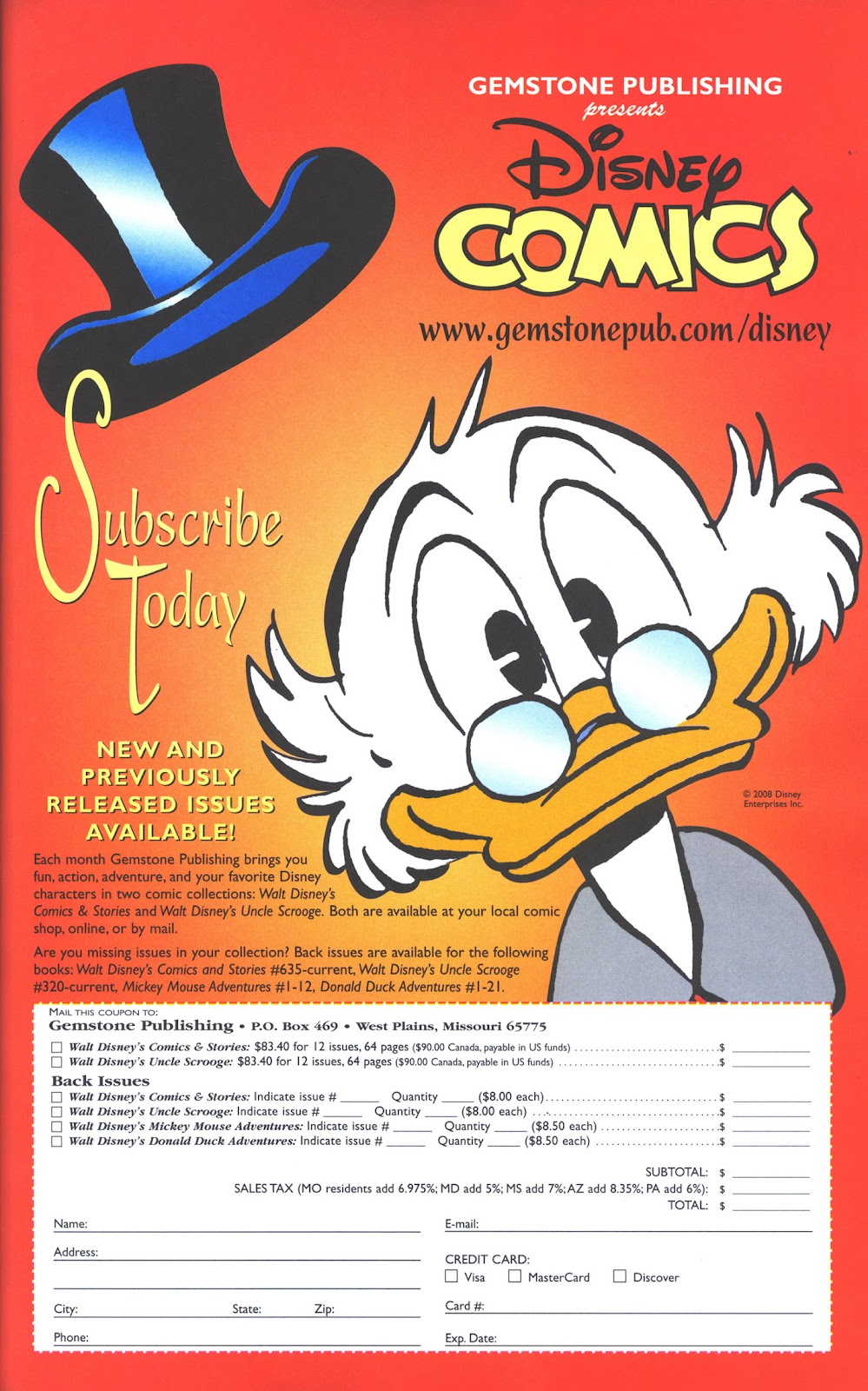 Uncle Scrooge (1953) Issue #376 #376 - English 37