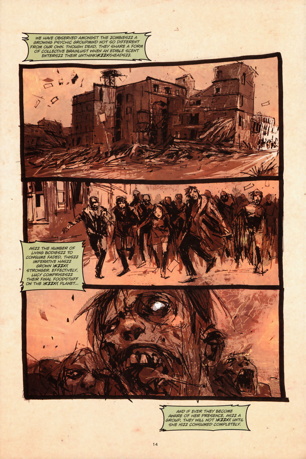 Zombies vs. Robots (2006) Issue #1 Page 16