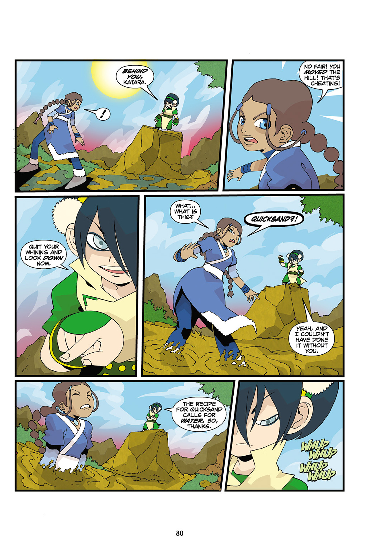 Nickelodeon Avatar: The Last Airbender - The Lost Adventures chap full pic 81