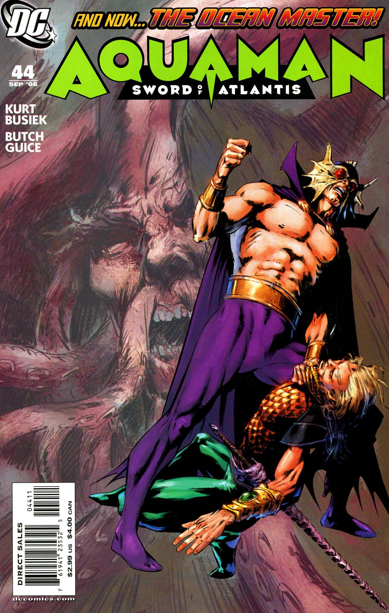 Aquaman: Sword of Atlantis 44 Page 1