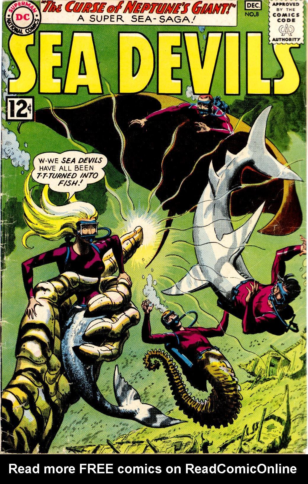 Read online Sea Devils comic -  Issue #8 - 2