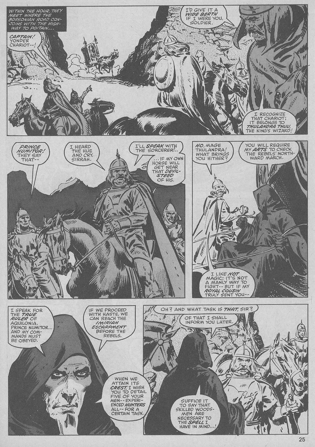 The Savage Sword Of Conan Issue #51 #52 - English 25