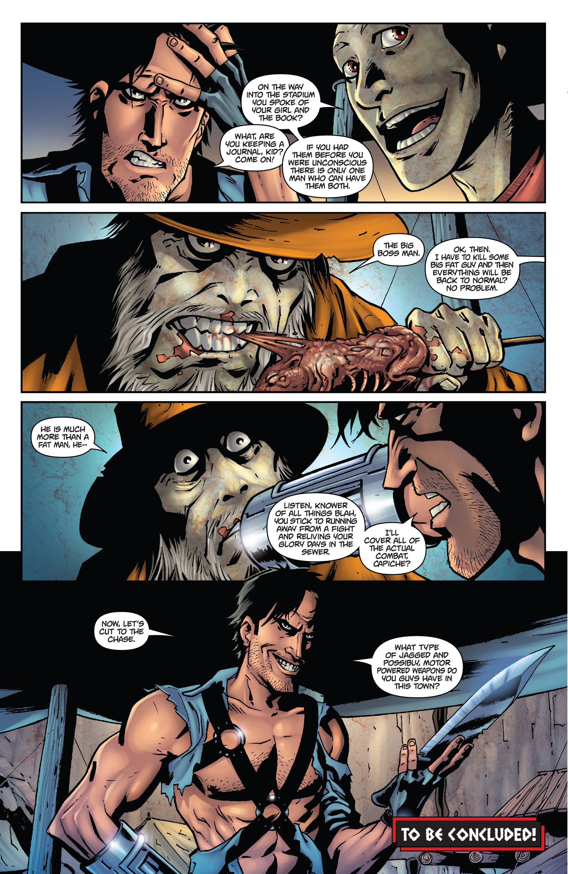 Army of Darkness: The Long Road Home TPB Page 77
