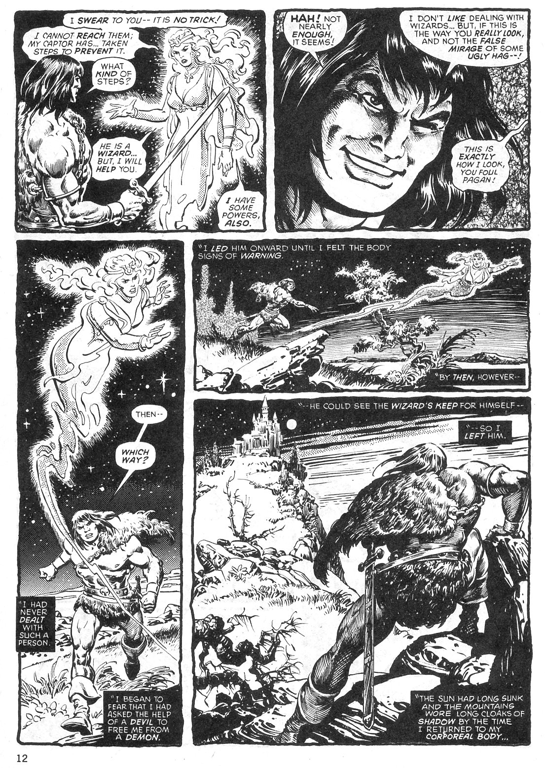The Savage Sword Of Conan Issue #29 #30 - English 12