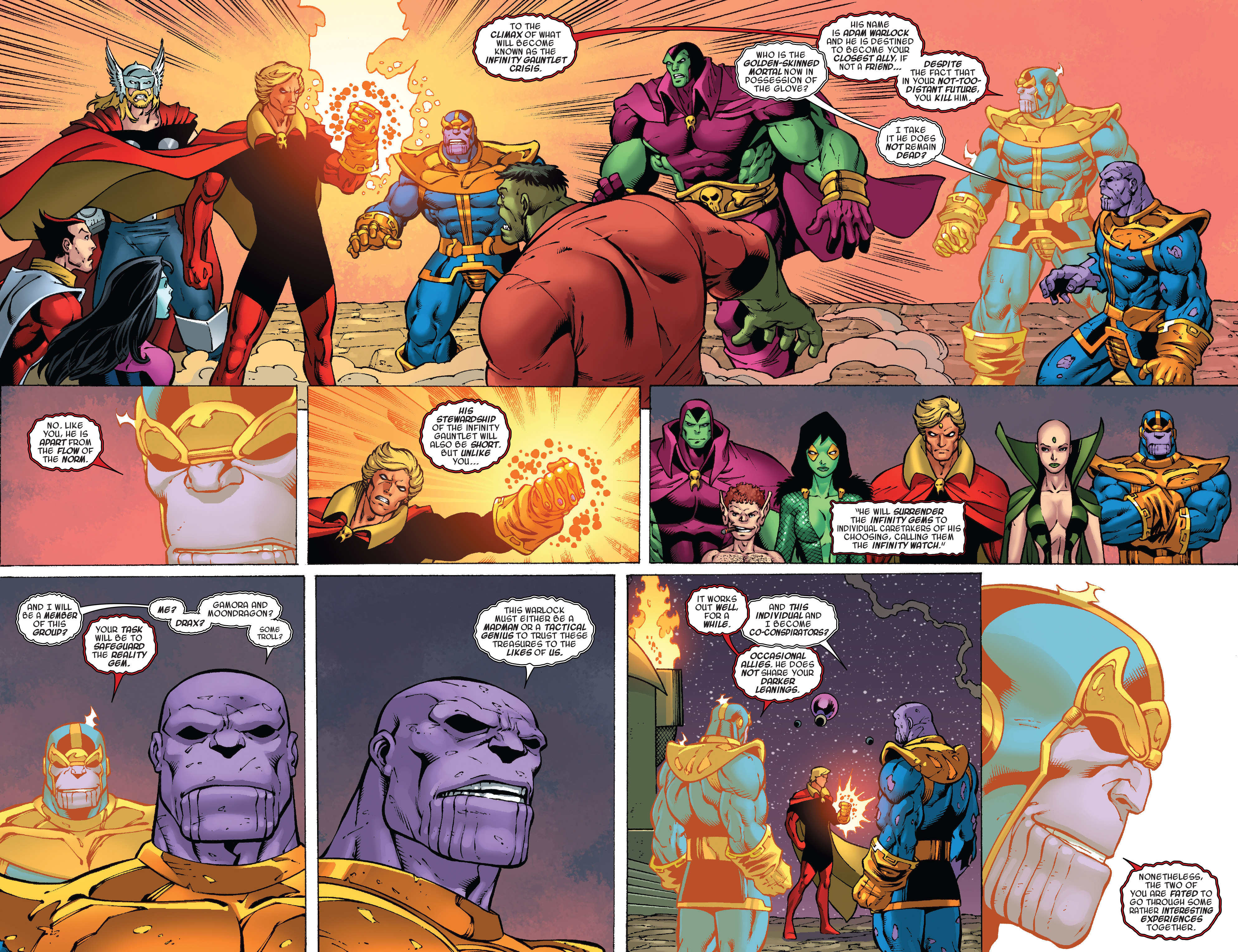 Read online Thanos Annual comic -  Issue # Annual - 21