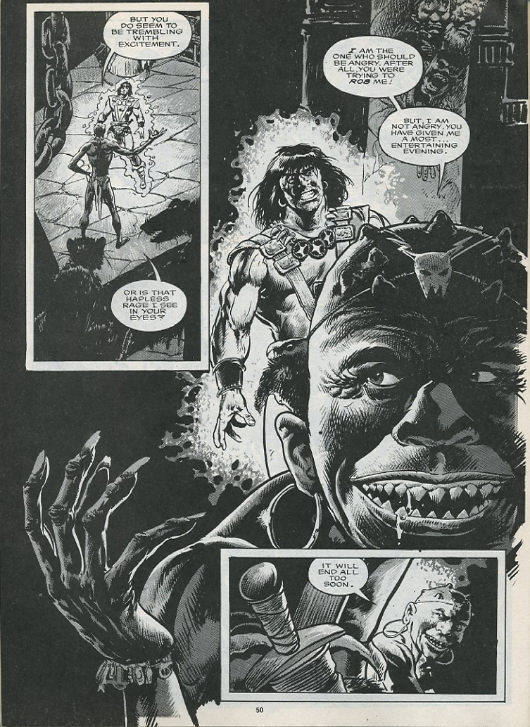 The Savage Sword Of Conan Issue #176 #177 - English 52