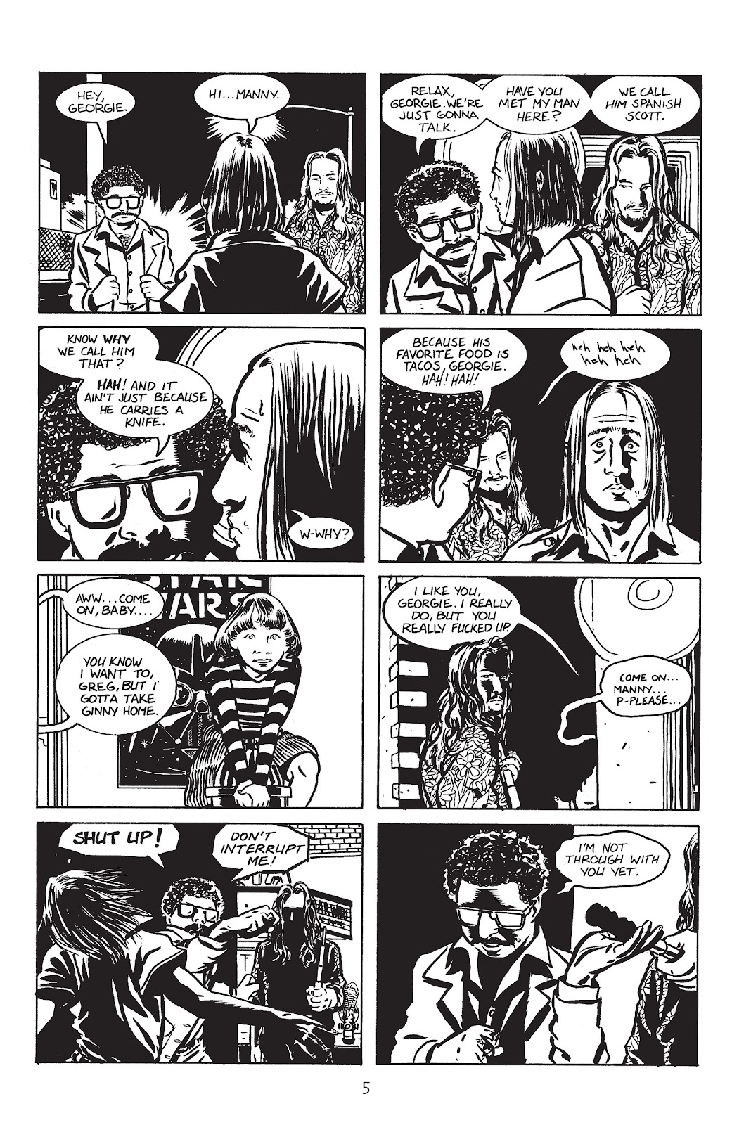 Stray Bullets Issue #2 #2 - English 7