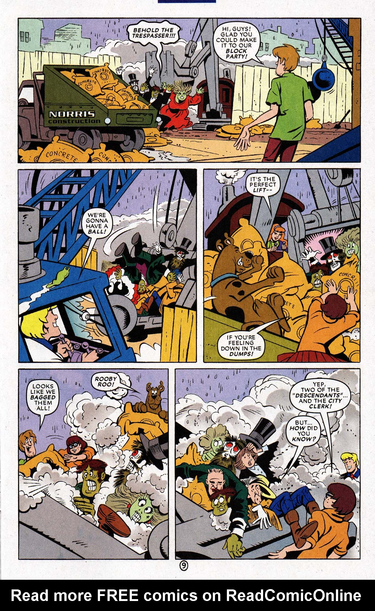 Read online Scooby-Doo (1997) comic -  Issue #69 - 10
