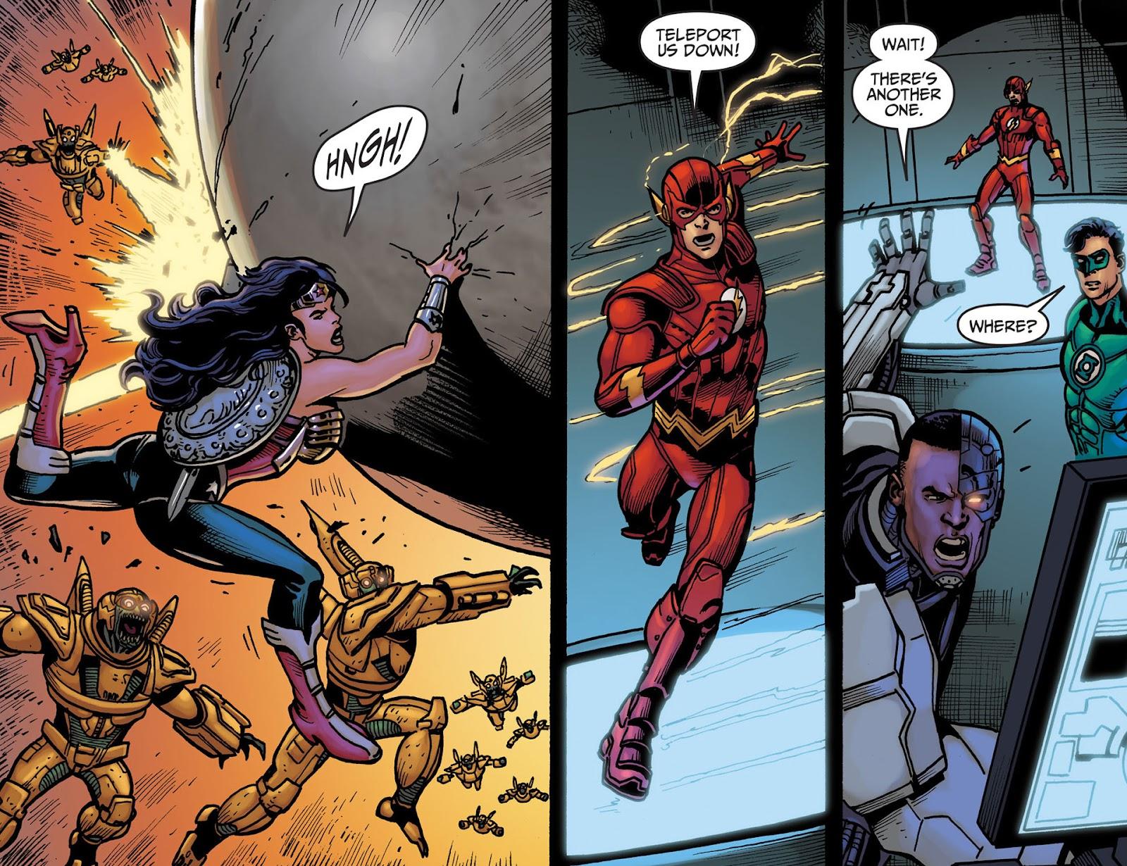 Injustice: Gods Among Us [I] Issue #23 #24 - English 10