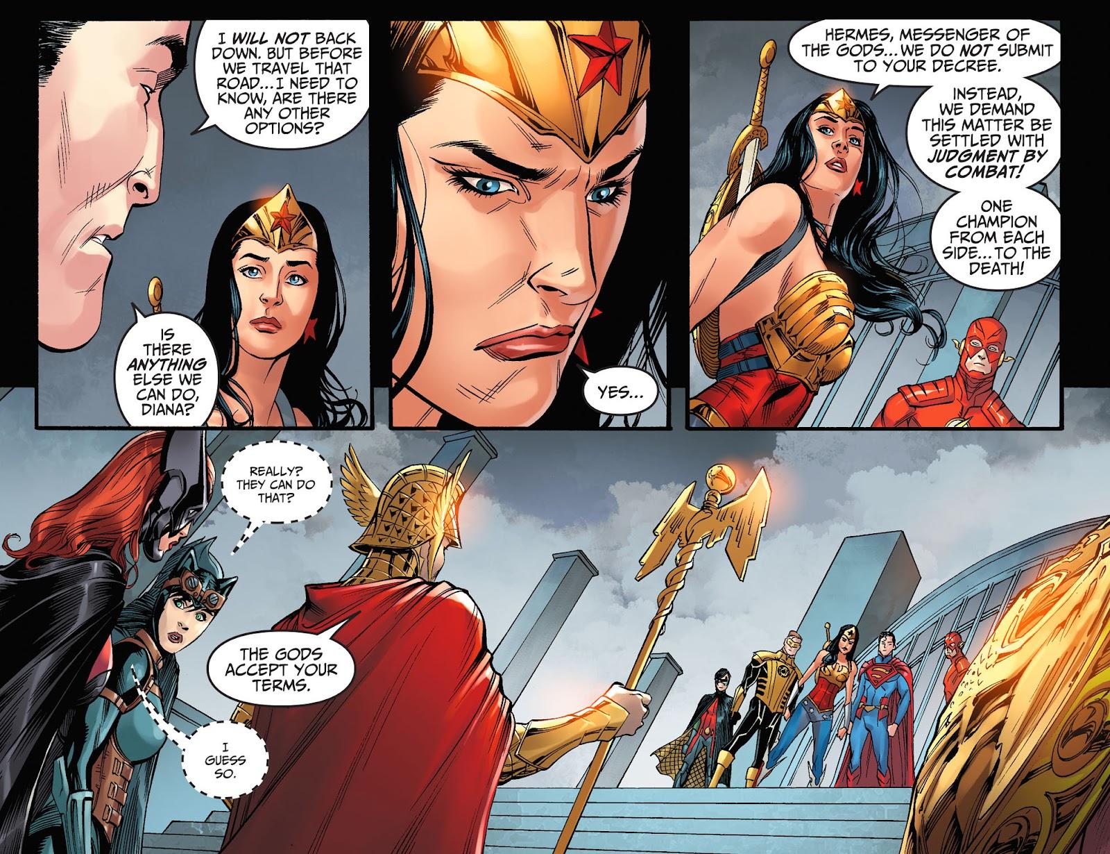 Injustice: Gods Among Us Year Four Issue #7 #8 - English 21