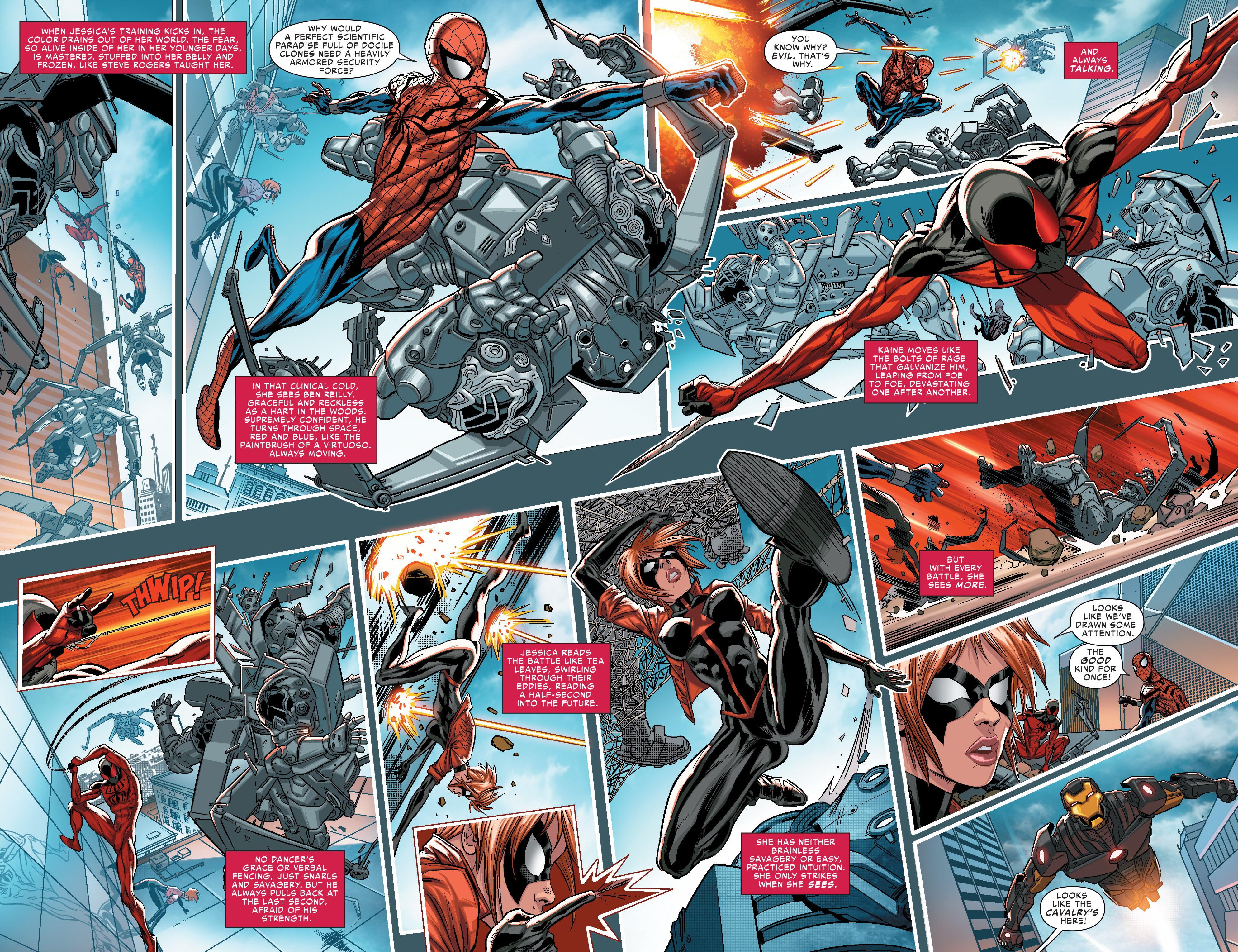 Read online Scarlet Spiders comic -  Issue #1 - 9
