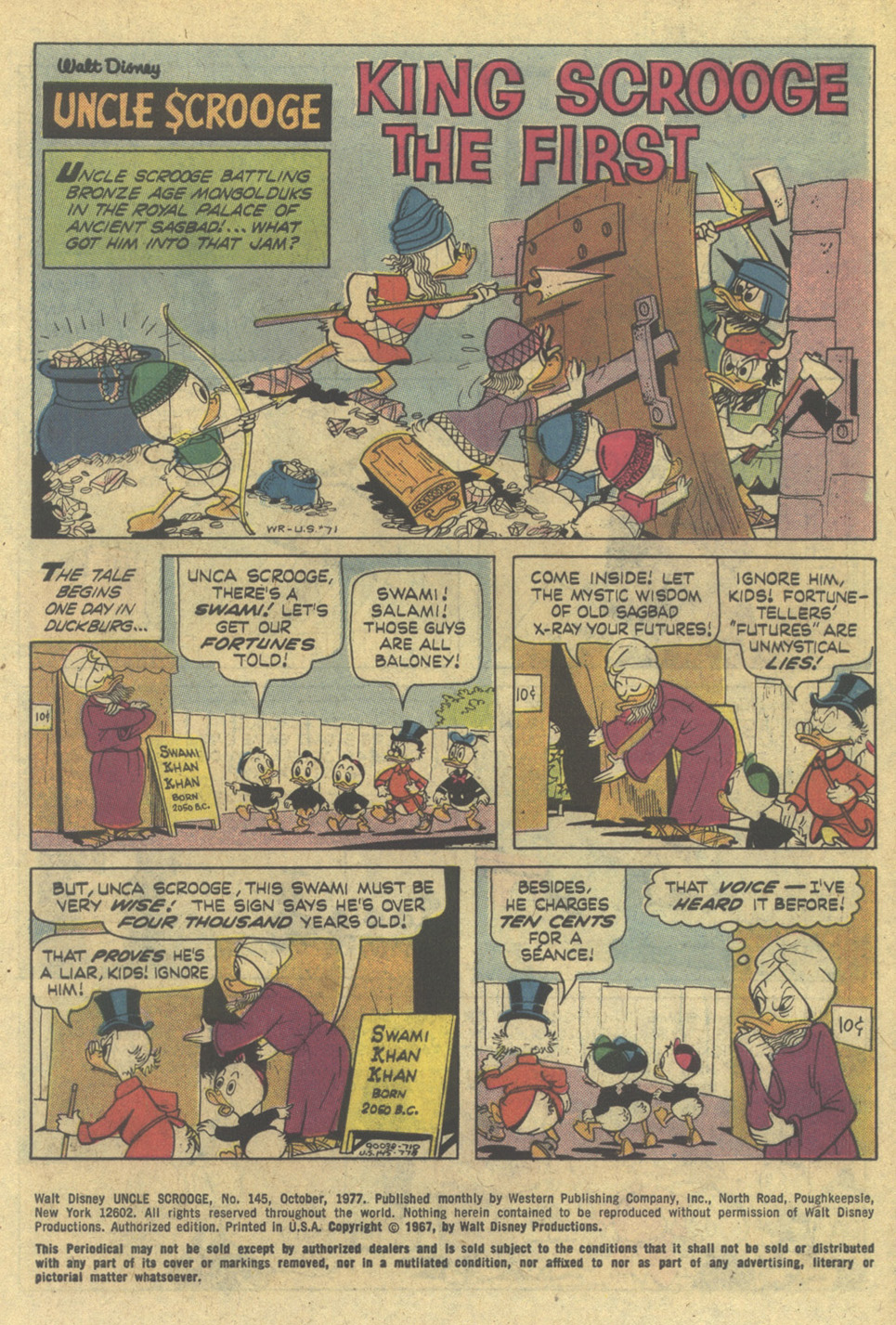 Uncle Scrooge (1953) Issue #145 #145 - English 3
