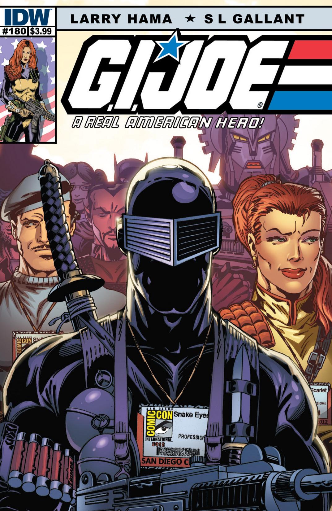 G.I. Joe: A Real American Hero 180 Page 1