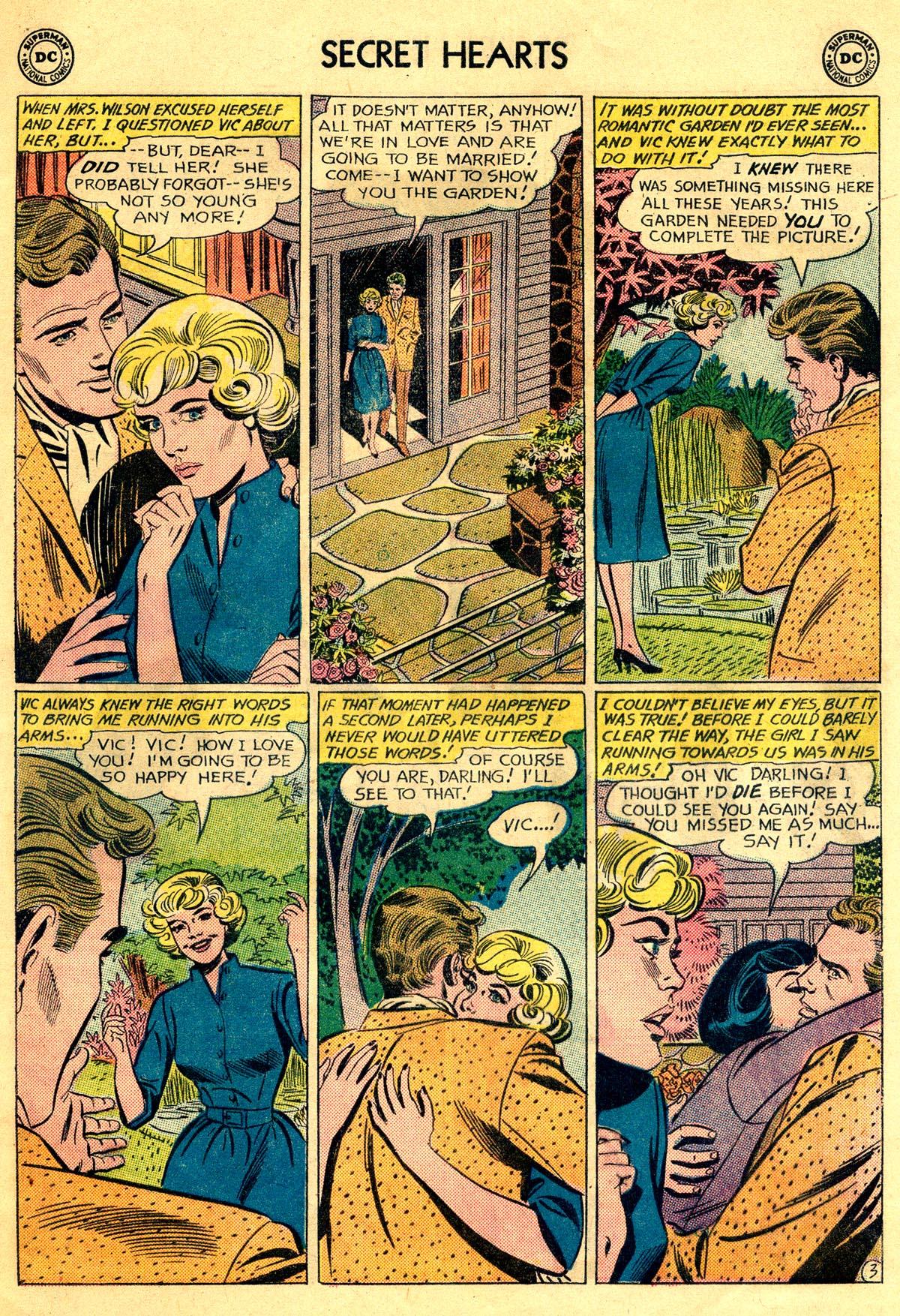 Read online Secret Hearts comic -  Issue #81 - 5