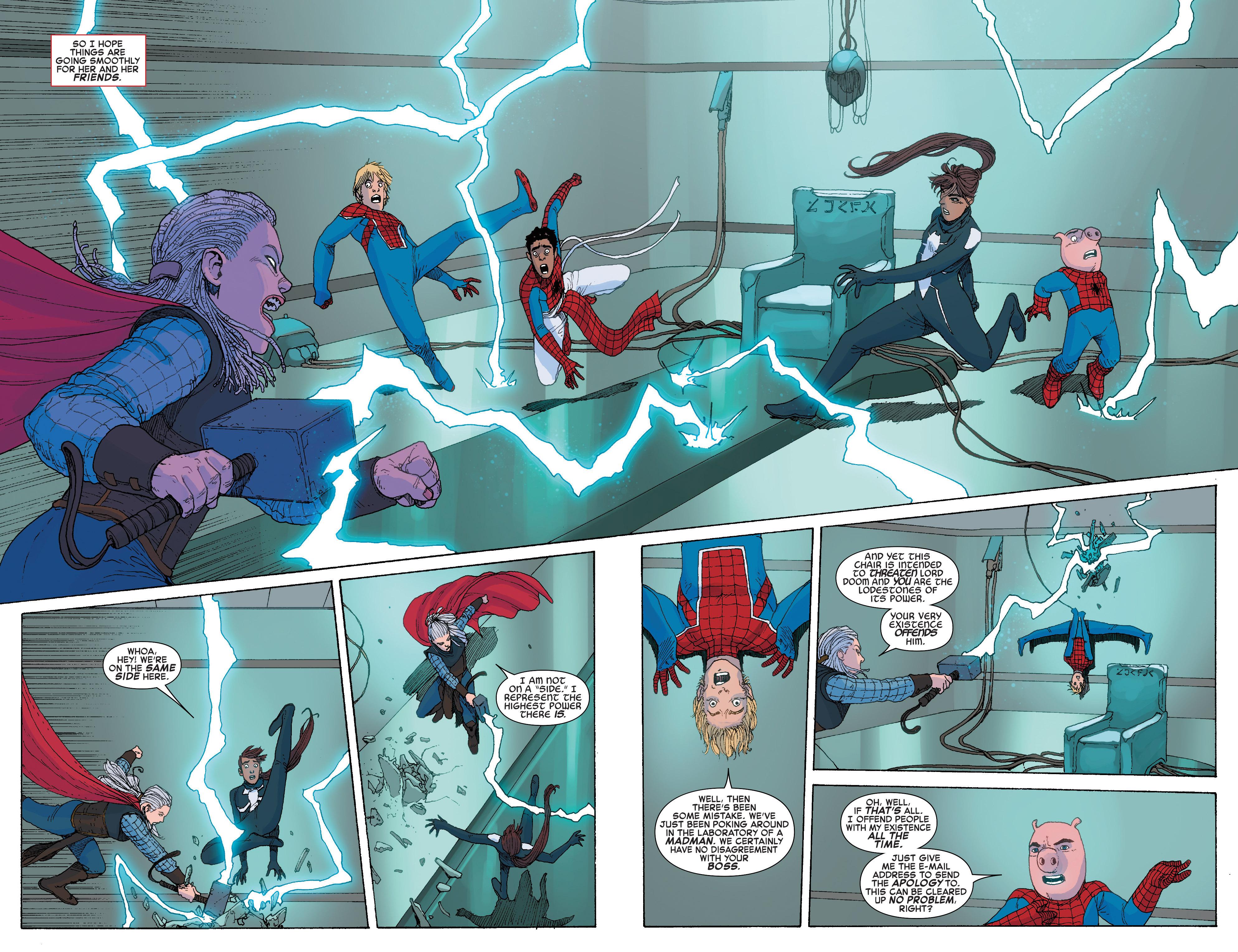 Read online Spider-Verse [II] comic -  Issue #5 - 4