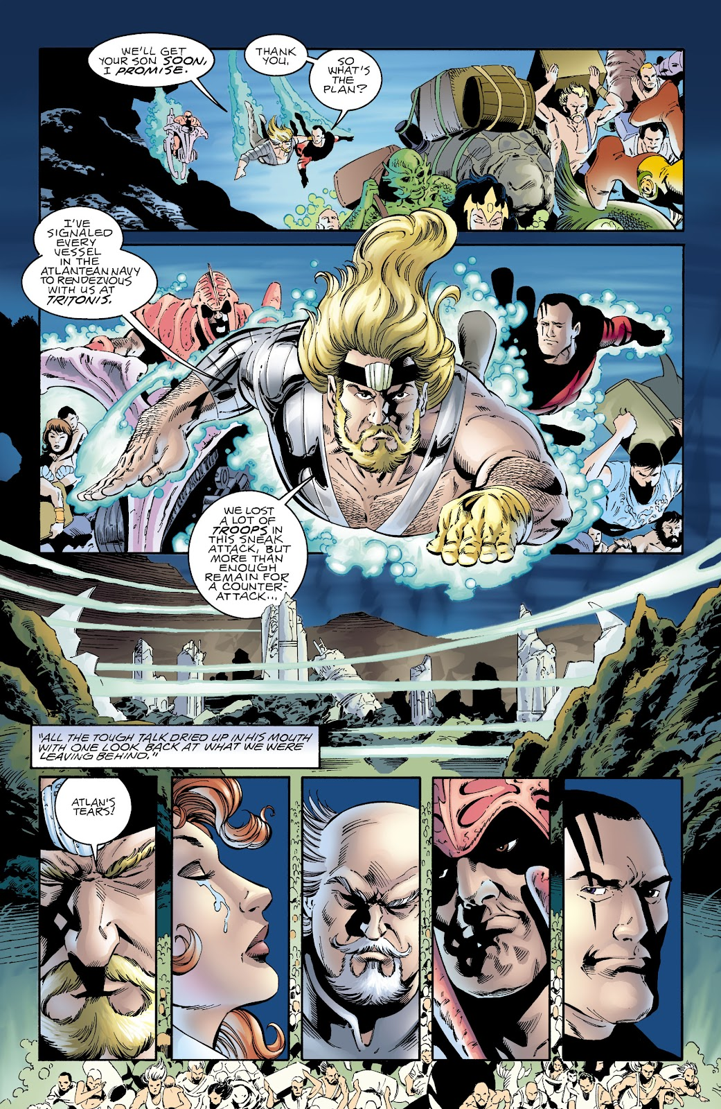 Aquaman (1994) Issue #65 #71 - English 9