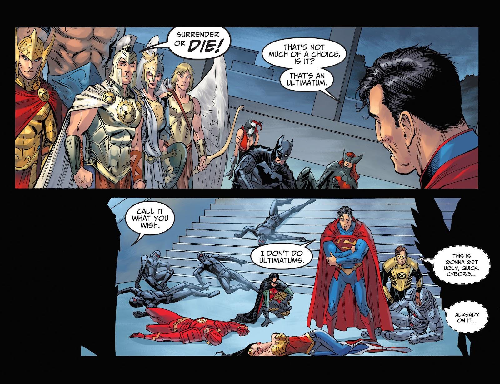 Injustice: Gods Among Us Year Four Issue #11 #12 - English 5
