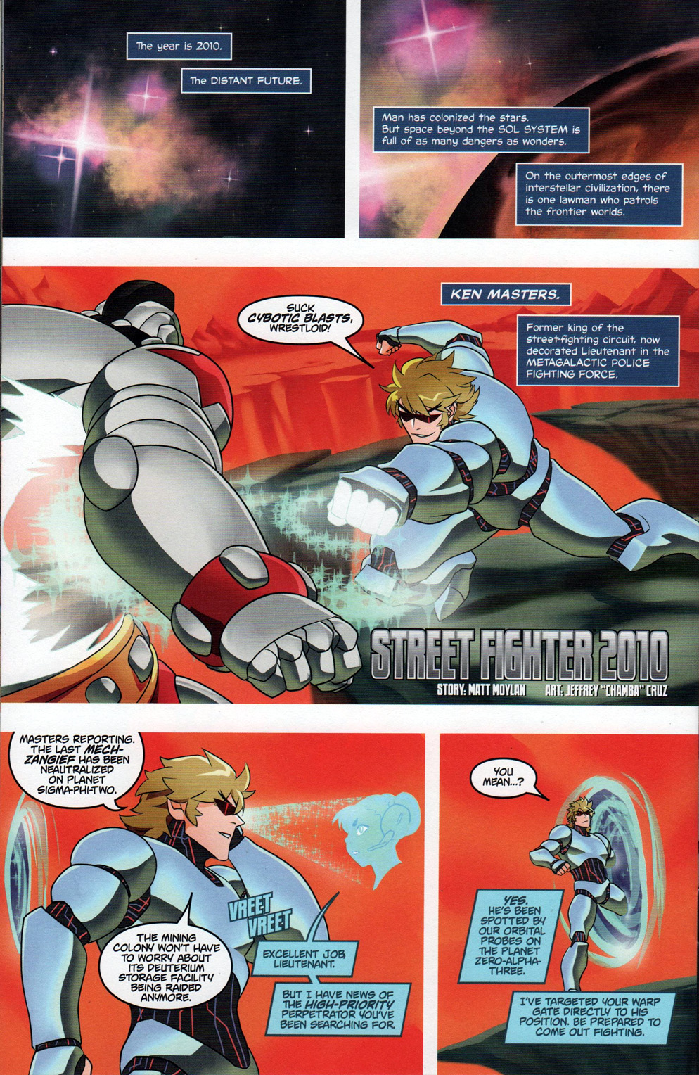Street Fighter Unlimited Issue #10 #12 - English 23