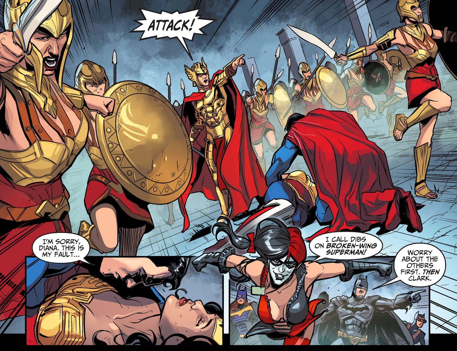Injustice: Gods Among Us Year Four Issue #10 #11 - English 14