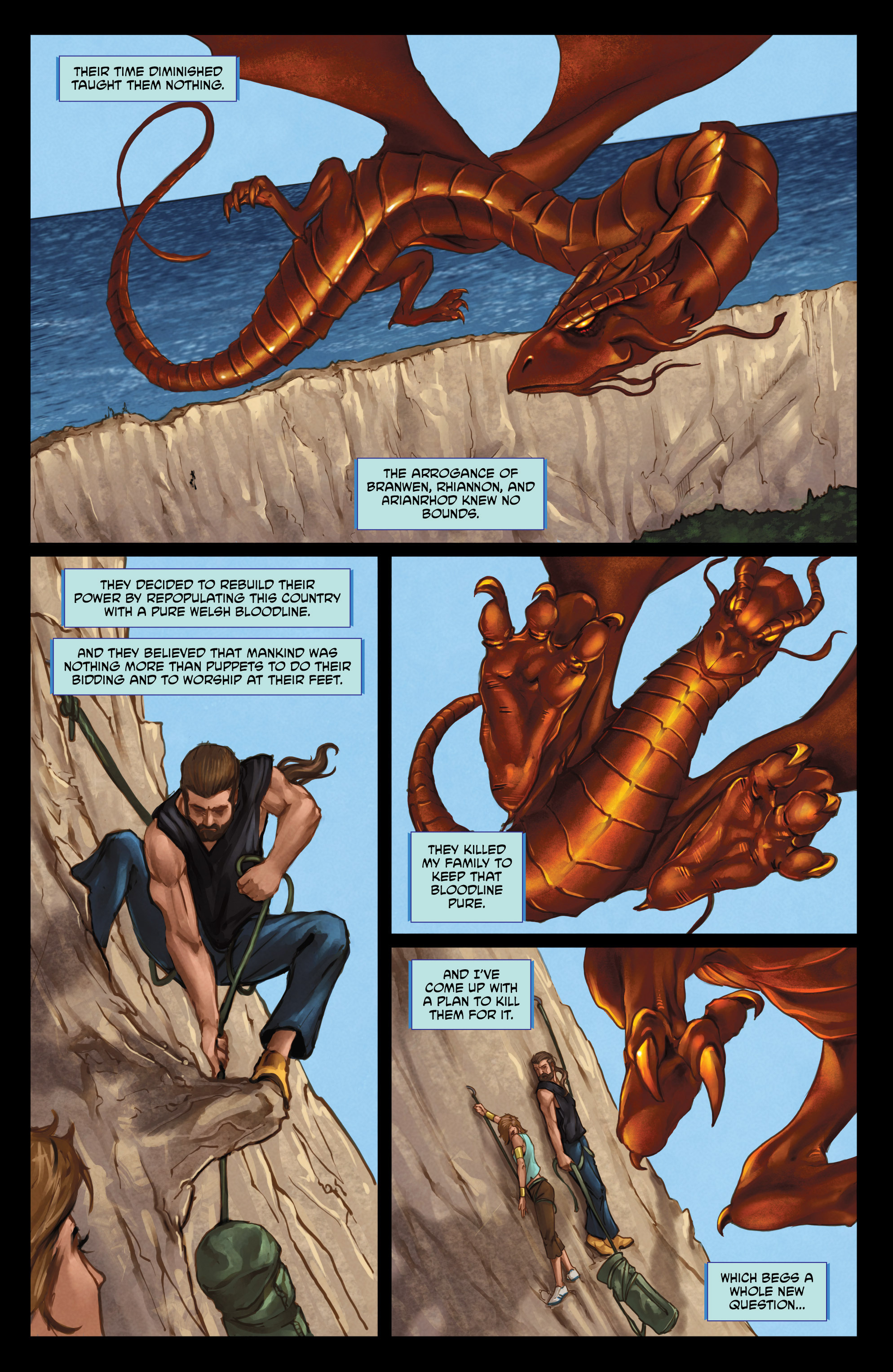 Read online God Is Dead comic -  Issue #47 - 19
