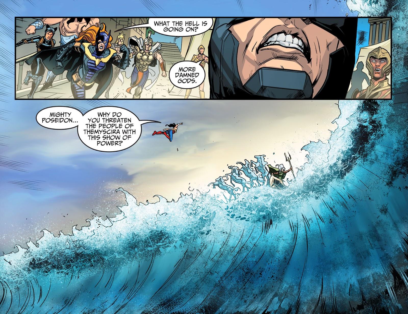 Injustice: Gods Among Us Year Four Issue #17 #18 - English 12