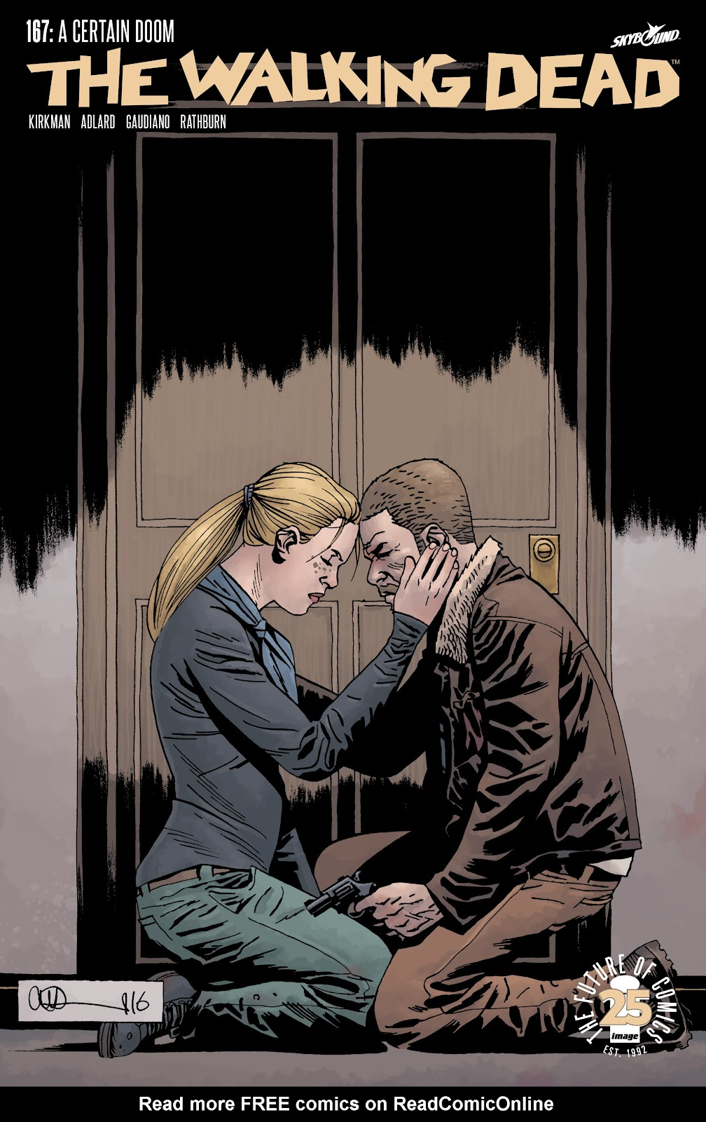 The Walking Dead Issue #167 Page 1